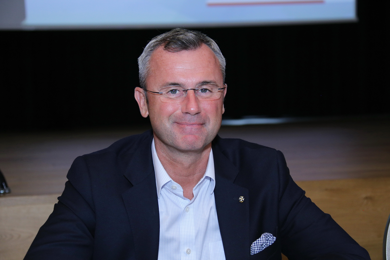 Norbert Hofer Rollstuhl