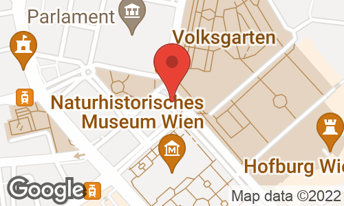 Google Map: Dr. Karl Renner Ring 1, Wien